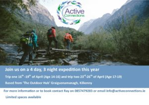 Active Connections Expedition @ The Outdoor Hub