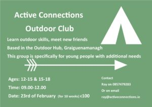 Active Connections Outdoor Club @ The Outdoor Hub